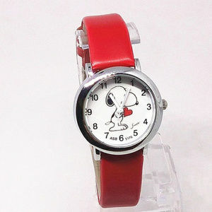 RESTOCK COMING Snoopy Watch Red NWT